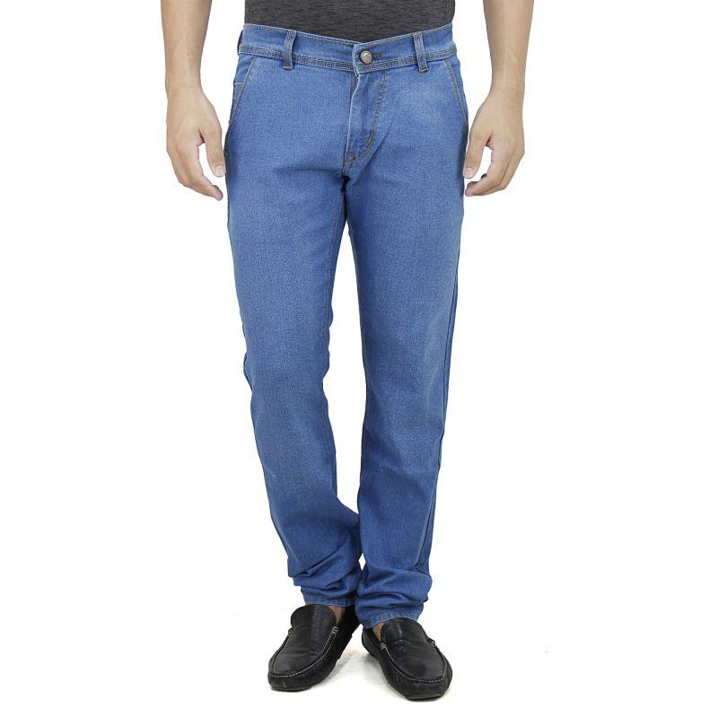 Buy Savon Mens Slim Fit Stretch Blue Denim Jeans For Men (product Code - Sh507112-01) online