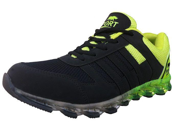 Buy Port Men's Roster Green Running Shoes Atom1_5 online