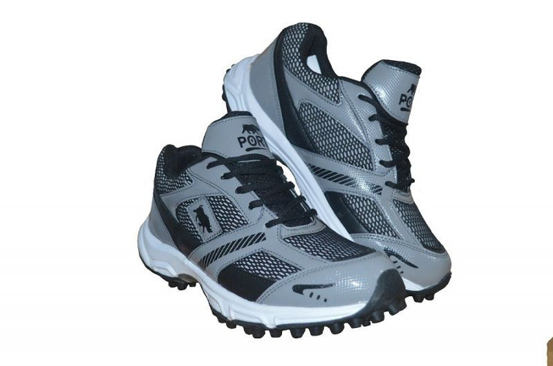 Buy Port Comex Flx Black Cricket Practices Sports Shoes online