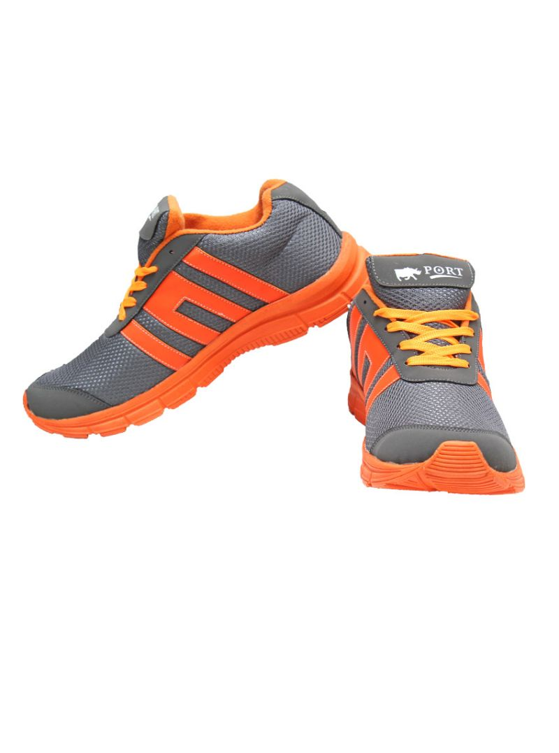 Buy Port Magnitude Greyorange Sports Shoes online