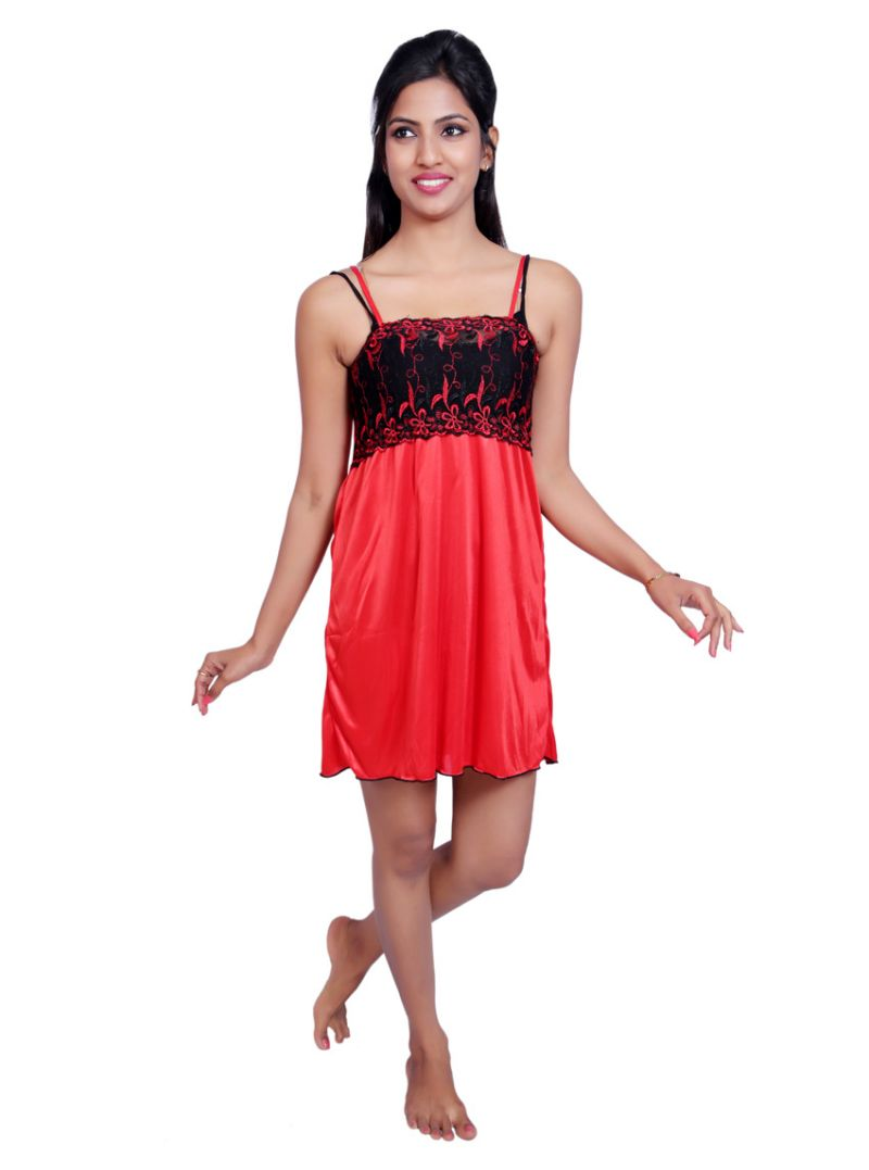 Buy Port Red Nightwear For Women P028_3 online