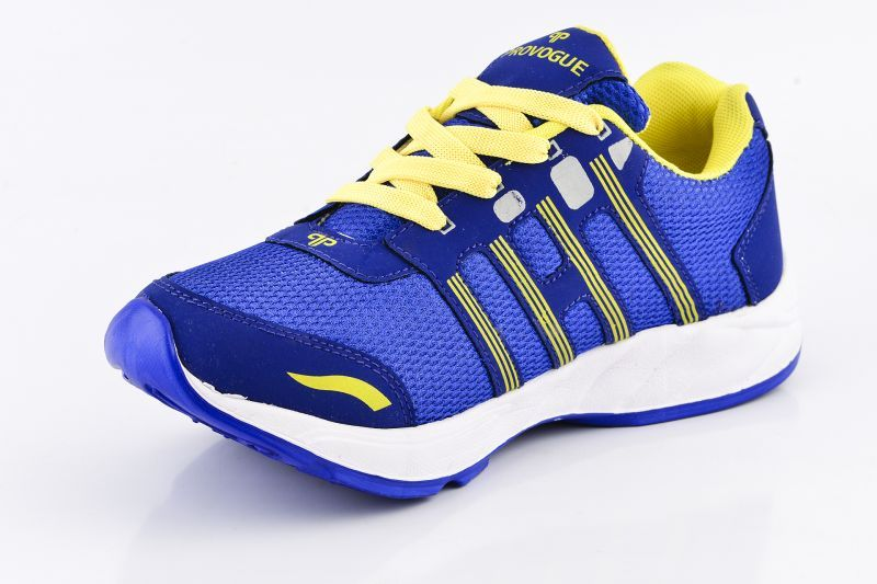 Buy Provogue Mens Mesh Blue & Yellow Sports Shoes - (product Code - Pv1097-blue-yellow) online