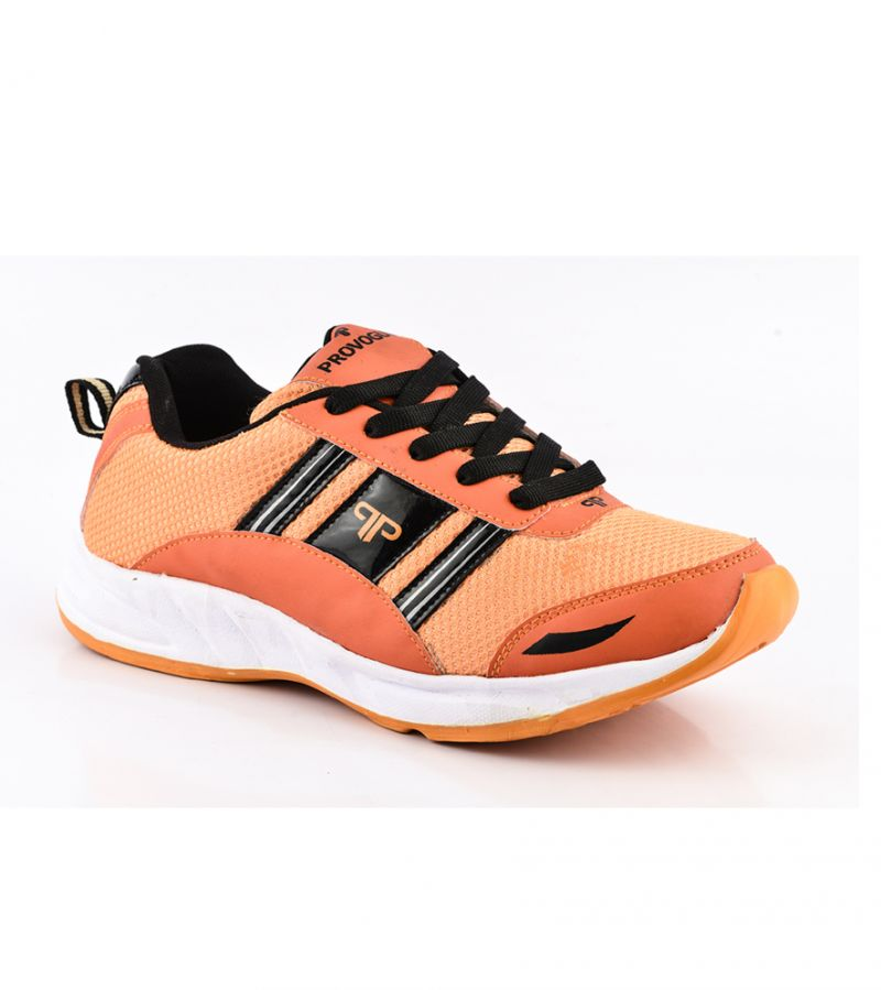 Buy Provogue Stylish & Attractive Orange And Black Sport Shoes online