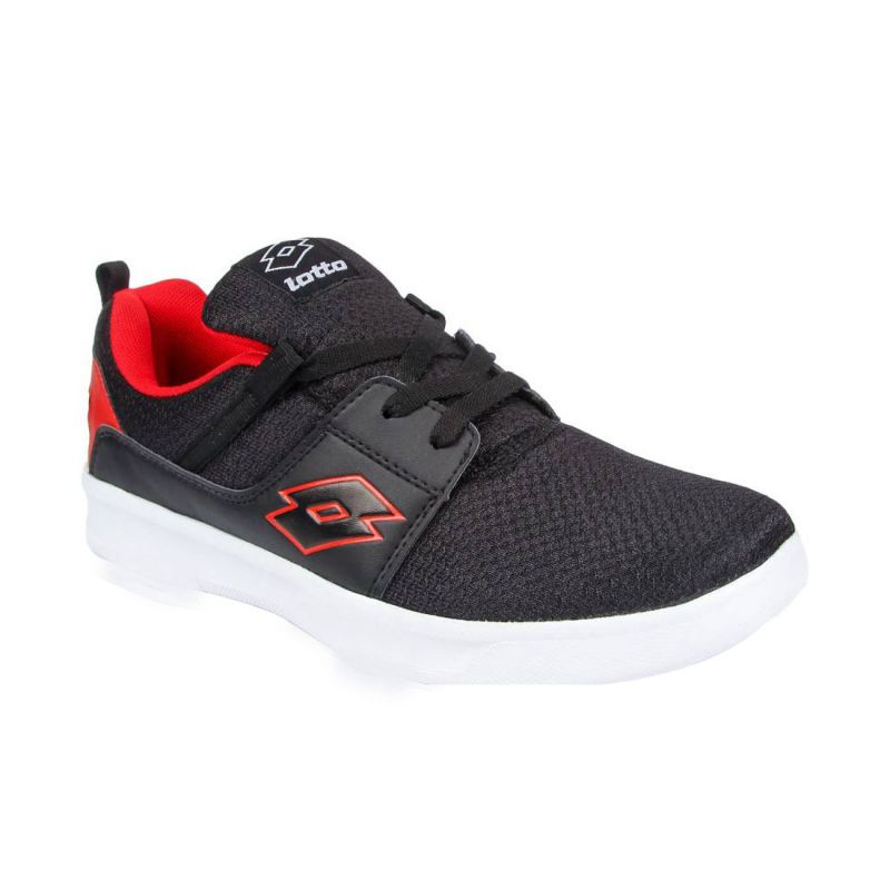 Buy Lotto String Black And Red Mens Running Sports Shoes online