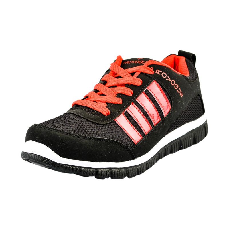 Buy Provogue Black And Red Running Sports Shoes online