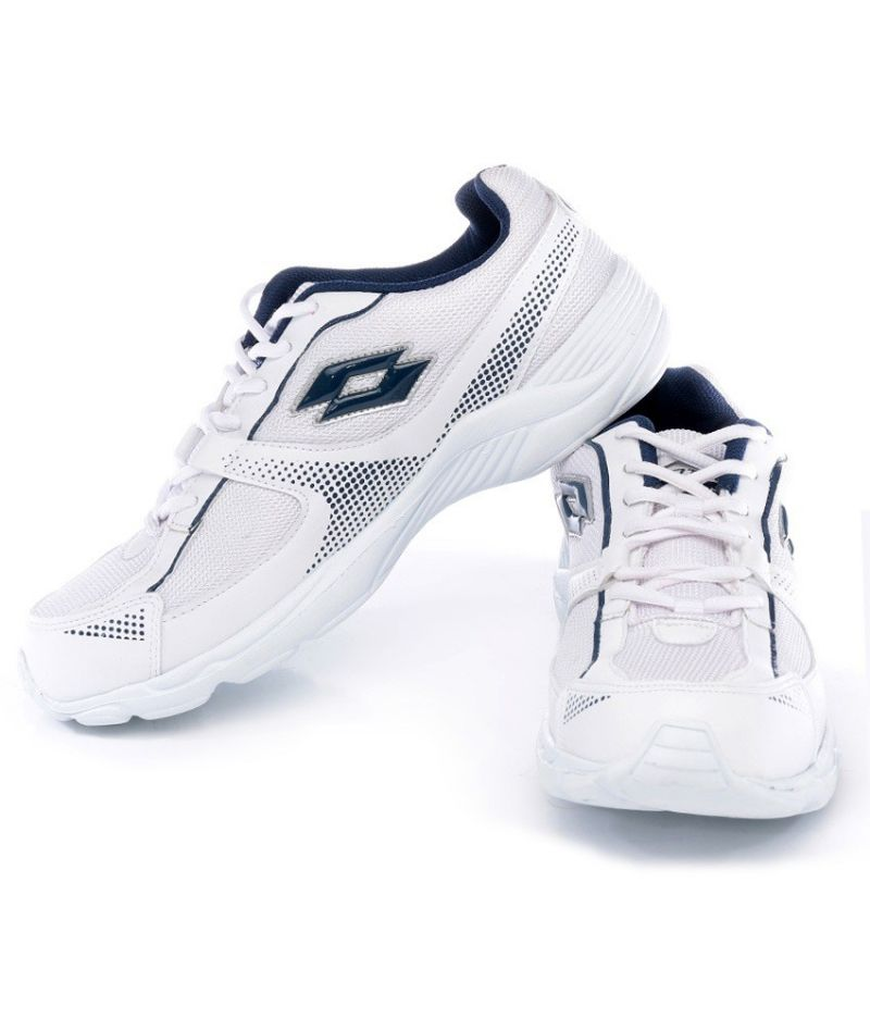 White/navy Sports Shoes Online
