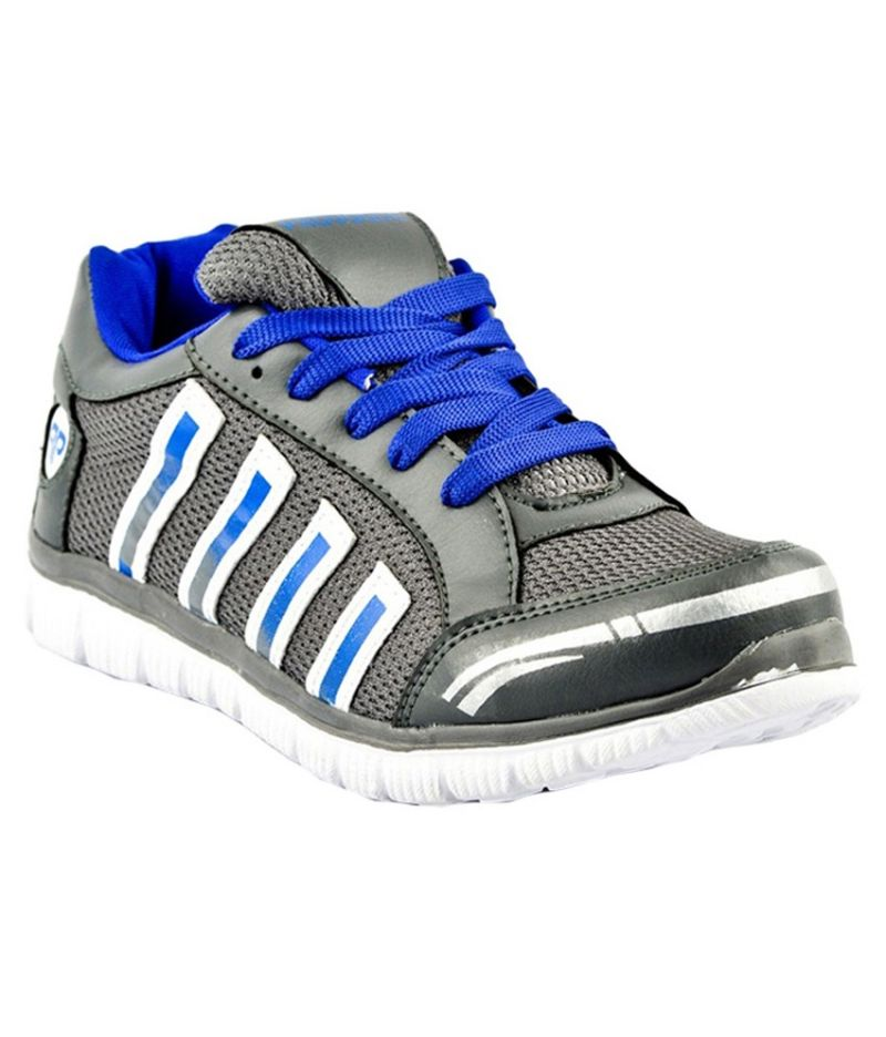 Buy Provogue 1058 Grey Blue Running Sports Shoes online