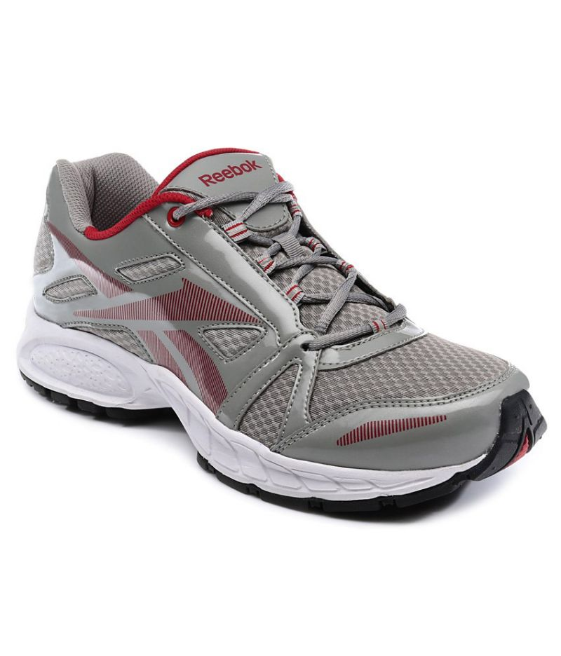 9a414b154f9893 Buy Reebok Dynamic Ride Lp Grey And Red Men Sports Shoes online .
