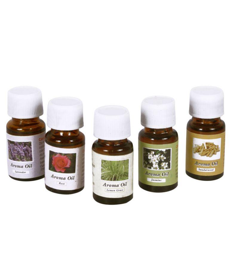 Buy Zarsa Aroma Difuser Oil Set Of 5pc Of 10ml Each online