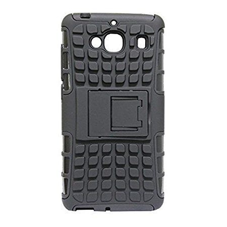 Buy Defender Back Cover Case With Kickstand For Xiaomi Mi 2s (black) online