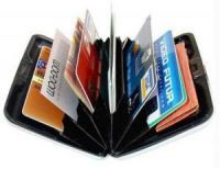Buy Aluma Atm Cash Credit Card Holder Wallet Purse - Buy 1 Get 1 Free online