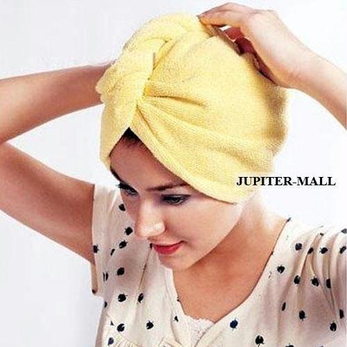 Buy Magic Hair-drying Women Towel Cap Bath Lady's Hat online