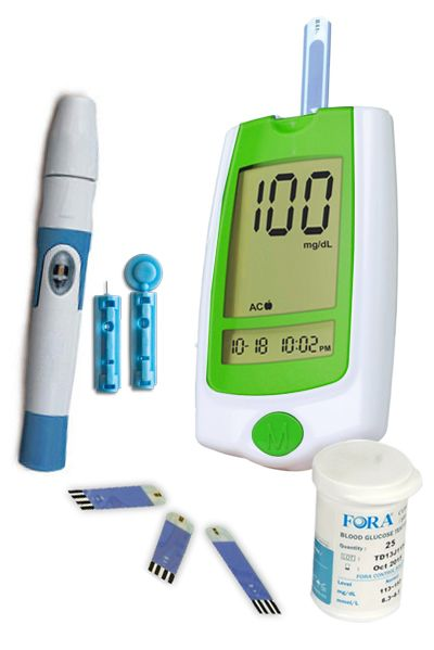 Buy Truworth G-30 Glucometer French Green + 25 Strips online