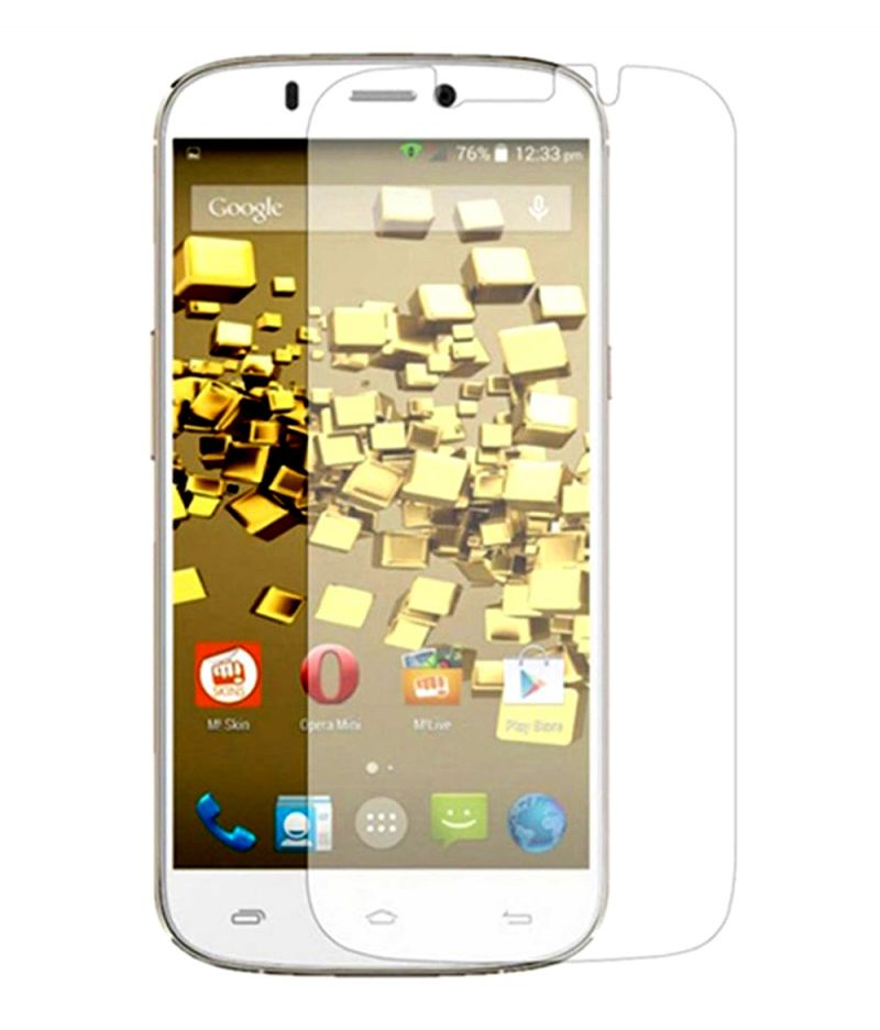 Buy Wellberg Curve Edges 2.5d Tempered Glass For Micromax A350 online