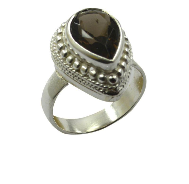Buy Riyo Gemstone Alloy Silver Crackled Ring Aspr65-0019 online