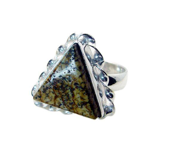 Buy Riyo Gemstone Alloy Silver Fashionable Ring Aspr80-0050 online