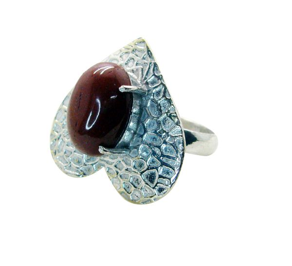 Buy Riyo Gemstone Alloy Silver Hot Ring Aspr90-0067 online