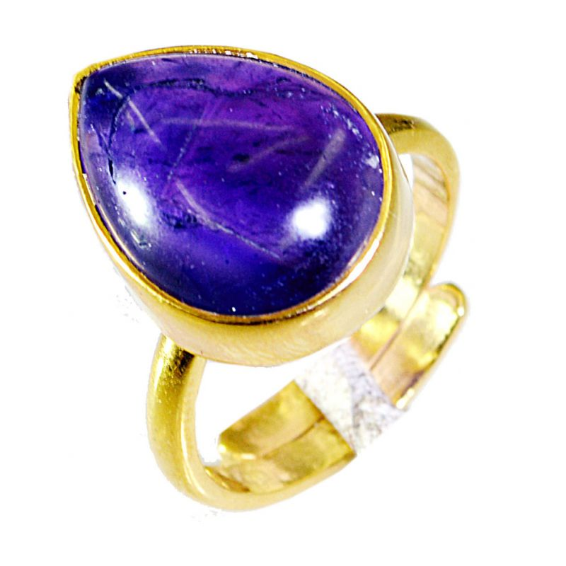 Buy Riyo Amethyst Buy Gold Plated Jewelry Posie Ring Sz 7 Gprame7-2030 online