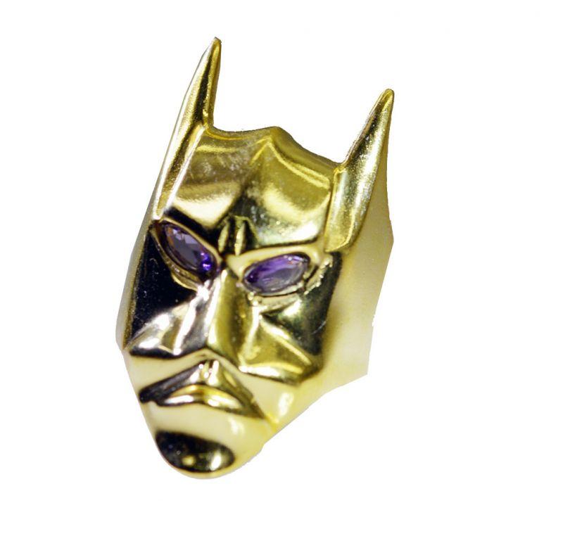 Buy Riyo Gemstone 18kt Gold Plated Bat Ring Gprbat80-130010 online