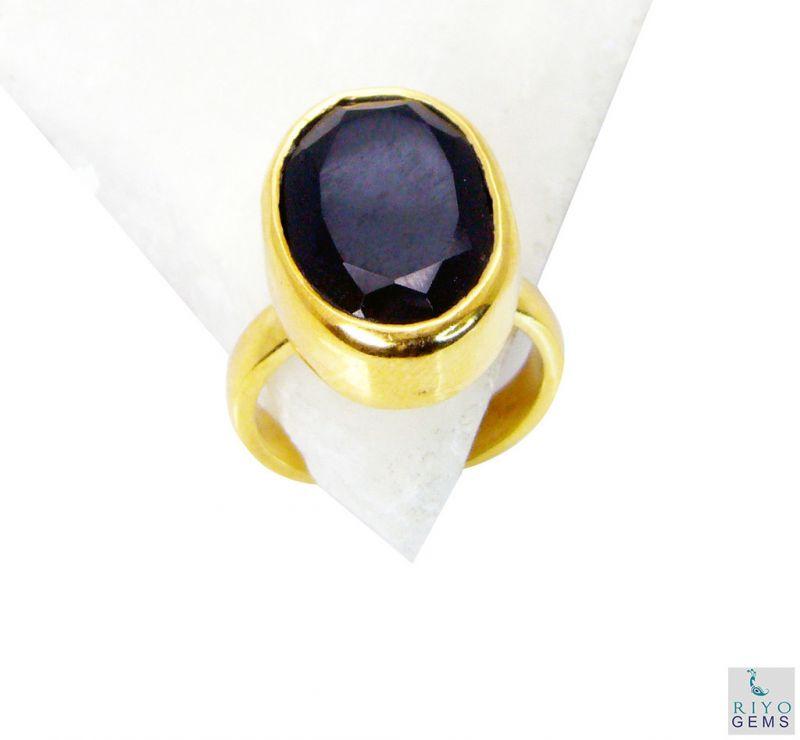 Buy Riyo Black Onyx Cheap Gold Plated Bridal Rings Sz 7 Gprbon7-6021 online