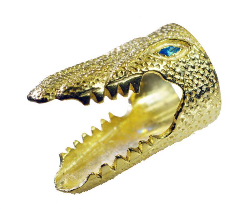Buy Riyo Blue Topaz Cz Base Matel Y Gold Claddagh Ring Sz 6.5 Gprbtcz6.5-92092 online