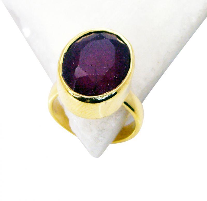 Buy Riyo Indi Ruby 18ct Ygold Plate Toe Ring Jewelry Sz 5 Gpriru5-34001 online
