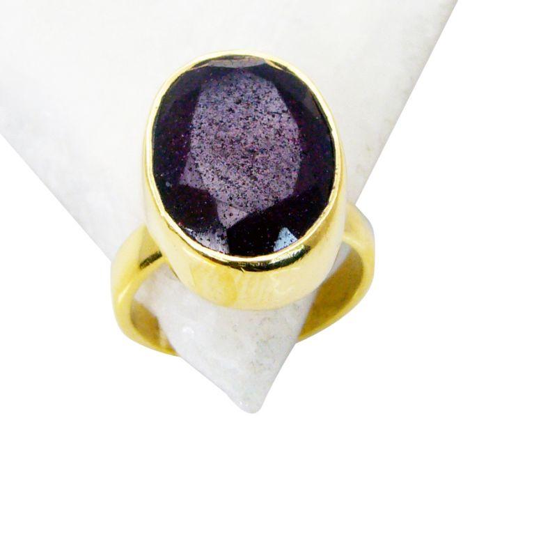 Buy Riyo Indi Ruby Gold Plated Jewelry Posie Ring Sz 7 Gpriru7-34023 online
