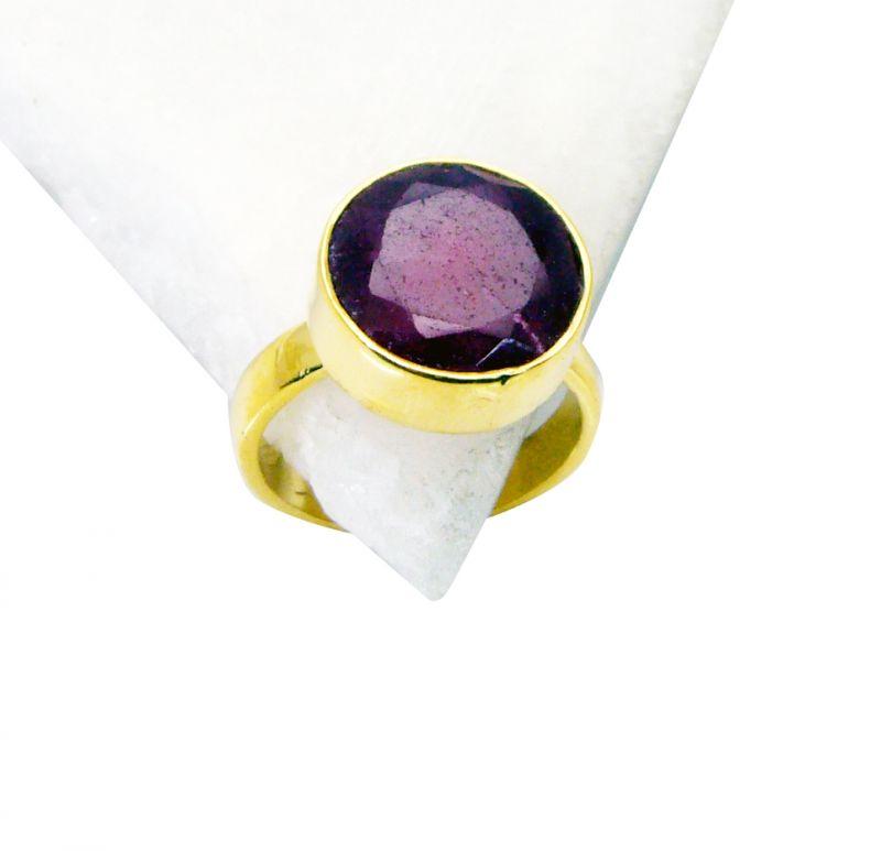 Buy Riyo Indi Ruby Gold Plated Jewelry Wedding Ring Jewelry Sz 8 Gpriru8-34035 online
