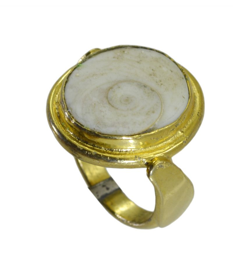Buy Riyo Jasper 18kt Gold Plated Gorgeous Ring Gprjas70-40020 online