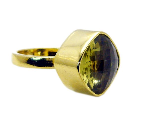 Buy Riyo Lemon Quartz Gold Plated Sets Gimmal Ring Sz 8 Gprlqu8-46014 online