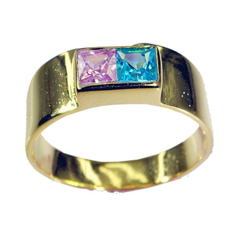 Buy Riyo Cz Gold Polish Guard Ring Sz 8.5 Gprmucz8.5-116020 online
