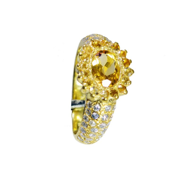 Buy Riyo Cz Gold Plated Sets Birthstones Ring Sz 8.5 Gprmucz8.5-116064 online