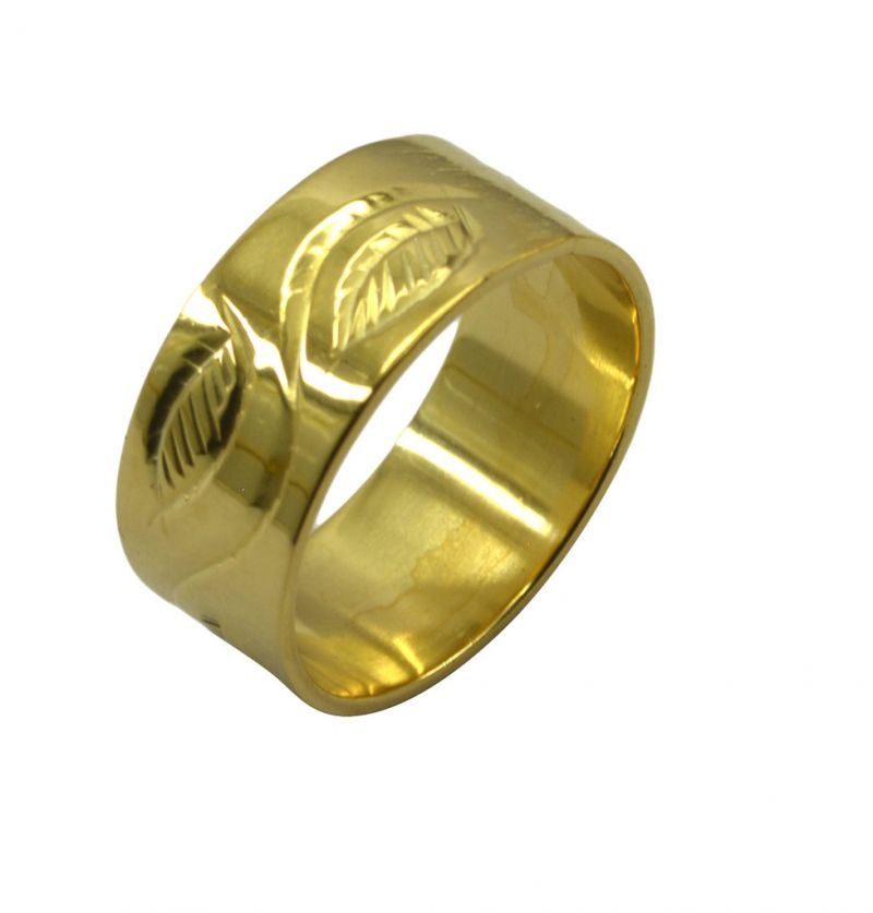 Buy Riyo A Plain 18kt Gold Plated Fine Ring Gprpla95-120008 online
