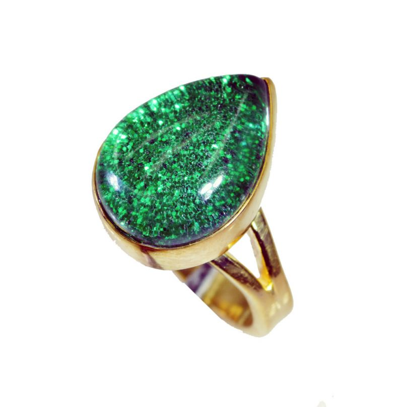 Buy Riyo Sunstone 18c Gold Plating Cocktail Ring Sz 6 Gprsun6-78011 online