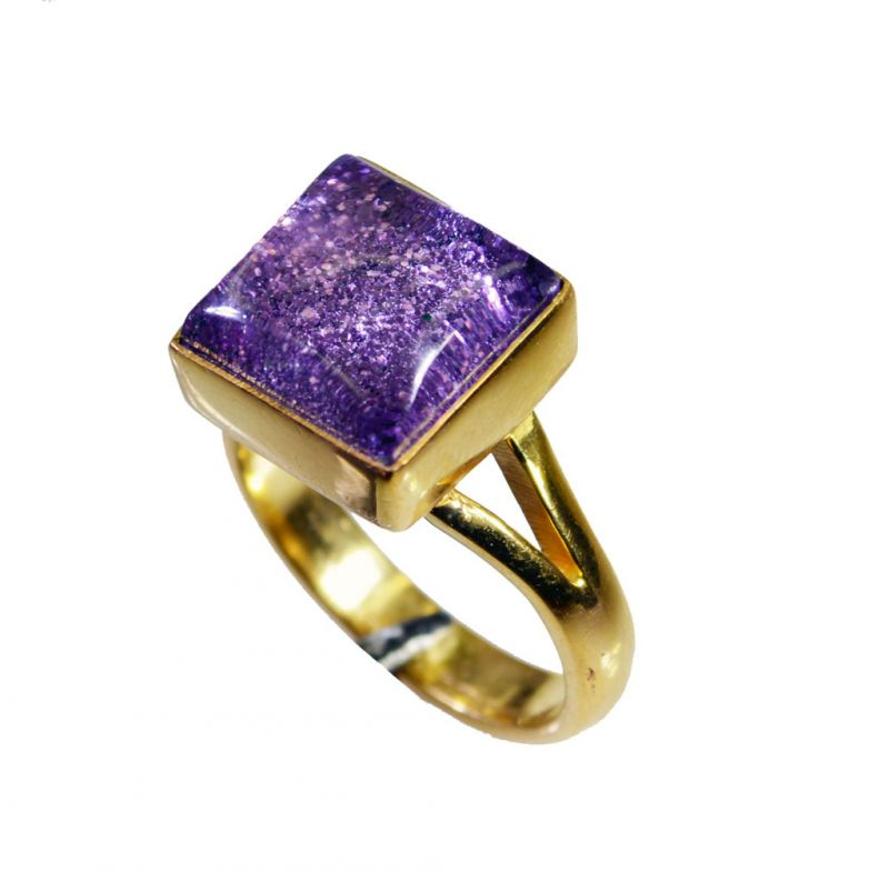 Buy Riyo Sunstone 18ct Ygold Plate Rosary Ring Jewelry Sz 6 Gprsun6-78029 online