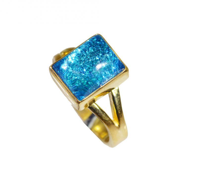 Buy Riyo Sunstone 18k Y Gold Plating Wedding Ring Jewelry Sz 6 Gprsun6-78035 online