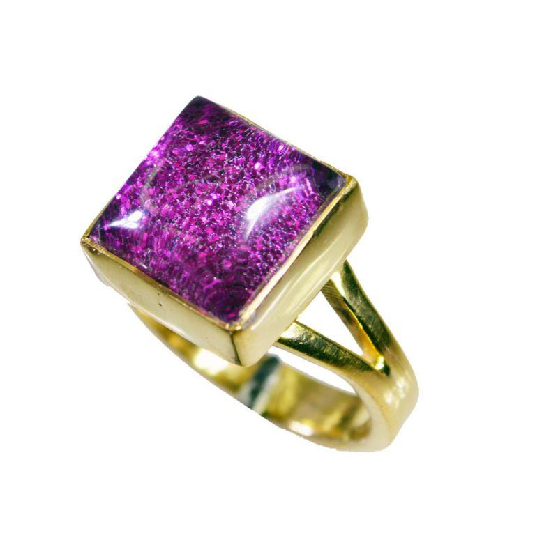 Buy Riyo Sunstone Gold Polish Class Ring Sz 6.5 Gprsun6.5-78019 online