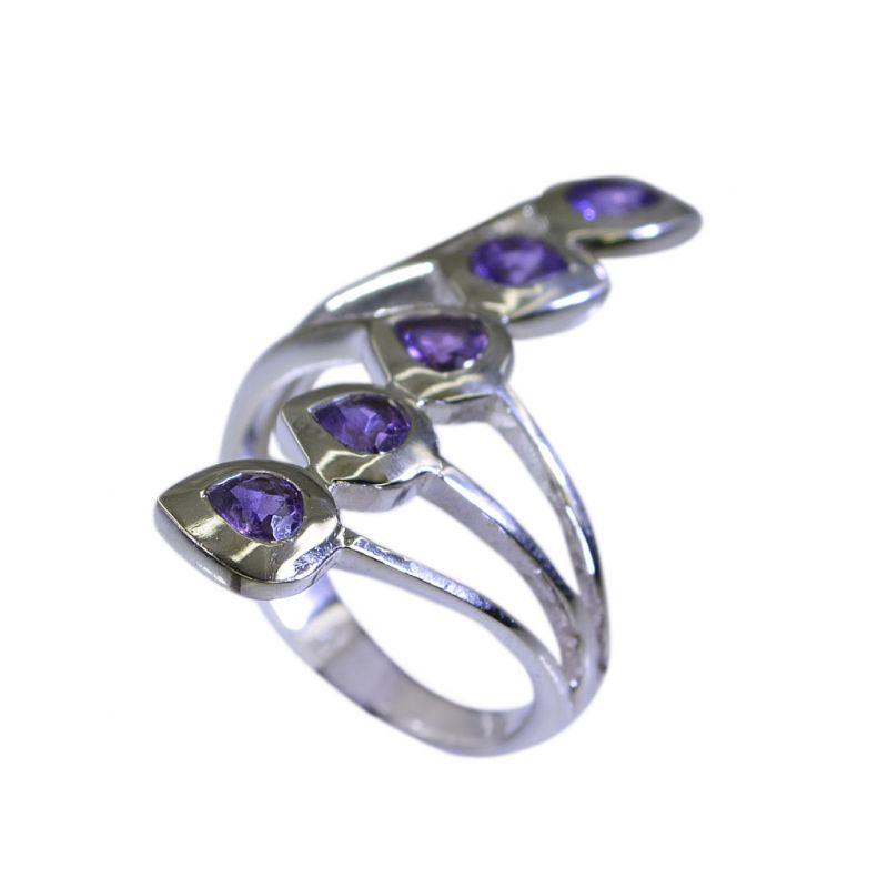 Buy Riyo Amethyst Silver Queen Jewellery Silver 925 Ring Sz 6.5 Srame6.5-2026 online