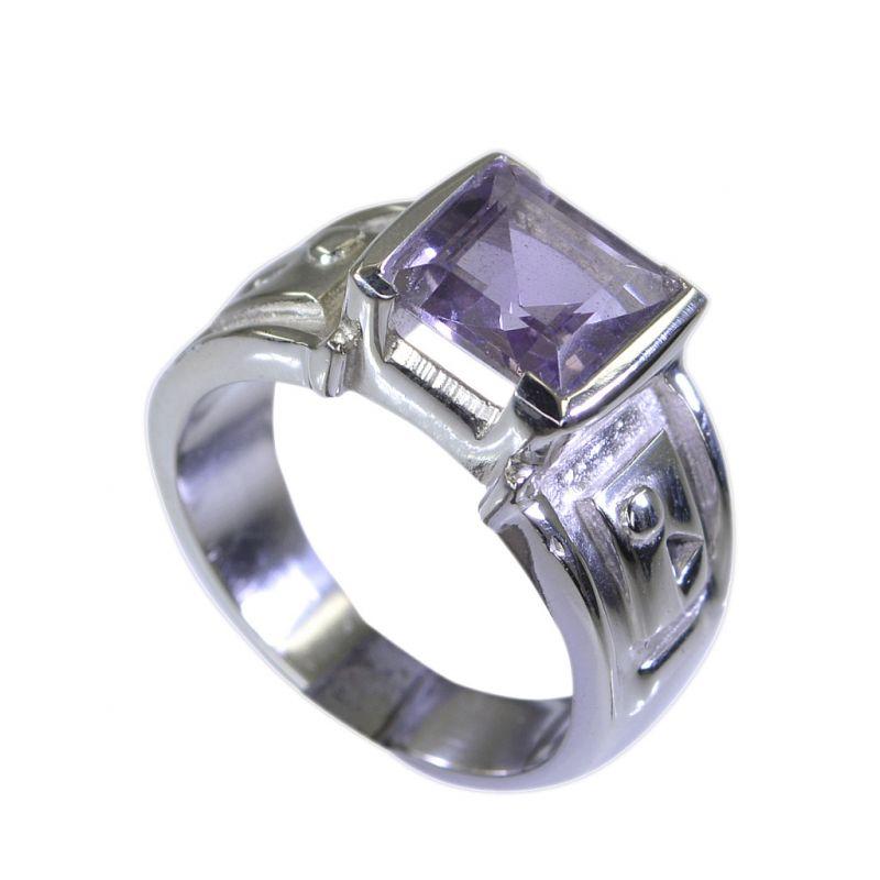 Buy Riyo Amethyst Stunning Silver Jewellery Silver Ring Sets Sz 7 Srame7-2056 online