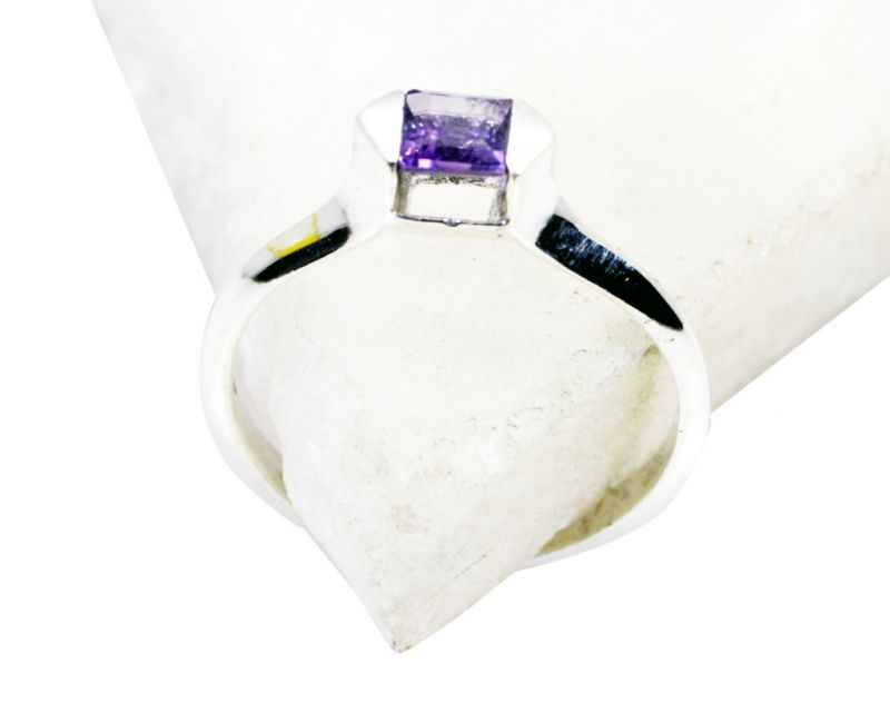 Buy Riyo Amethyst Wholesale Silver Jewellery Fashion Ring Jewellery Sz 7 Srame7-2086 online