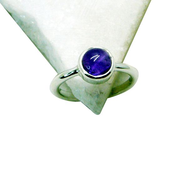 Buy Riyo Amethyst Wholesale Silver Jewellery India Claddagh Ring Jewellery Sz 7 Srame7-2087 online