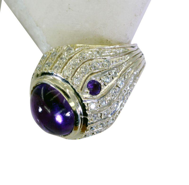Buy Riyo Amethyst Silver Sterling Purity Ring Jewellery Sz 7 Srame7-2110 online