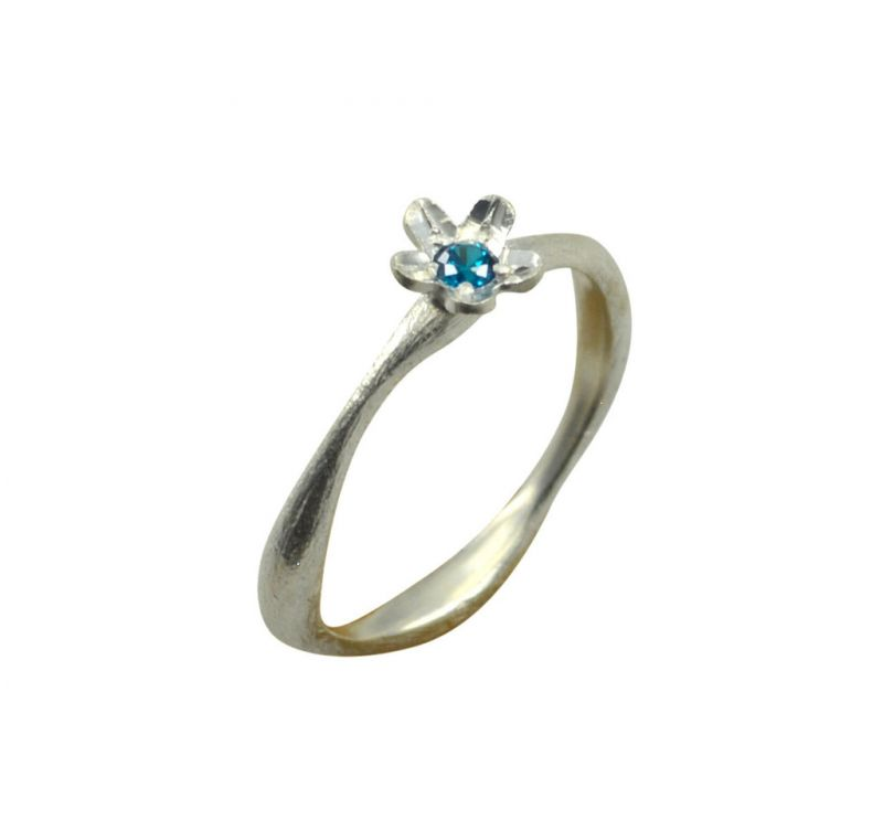 Buy Riyo A Blue Topaz 925 Solid Sterling Silver Hot Ring Srbto80-10114 online