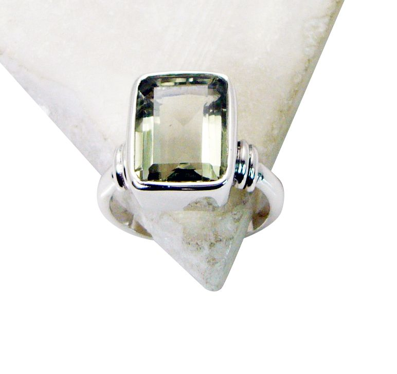Buy Riyo Green Amethyst Silver Jewelry Online Friendship Ring Sz 8 Srgam8-28049 online