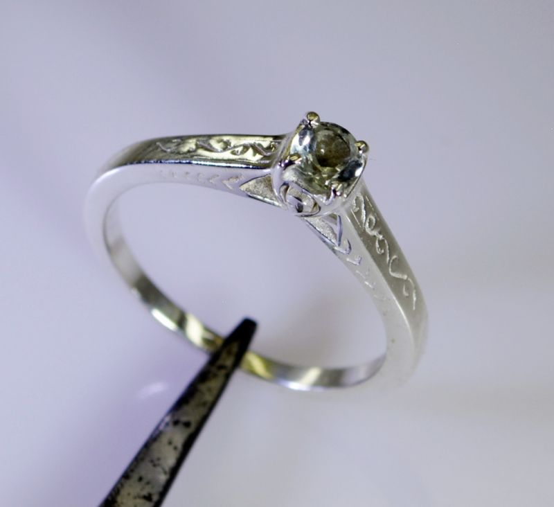 Buy Riyo Green Amethyst Wholesale Chunky Silver Ring Sz 8 Srgam8-28074 online