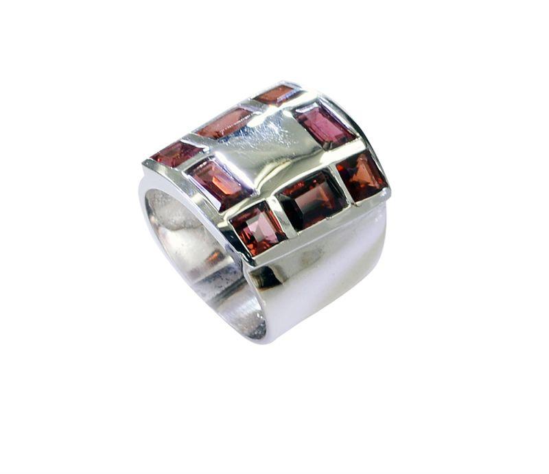 Buy Riyo Garnet Indian Silver Online Silver Wrap Ring Sz 5 Srgar5-26226 online