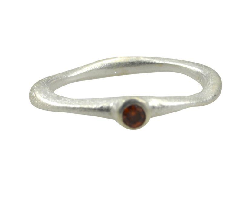 Buy Riyo Red Garnet 925 Solid Sterling Silver Rustresistant Ring Srgar55-26257 online