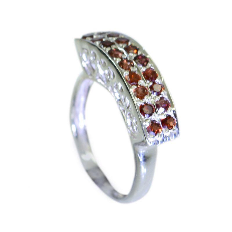 Buy Riyo Garnet Unique Handmade Jewellery Silver Star Ring Sz 6.5 Srgar6.5-26050 online