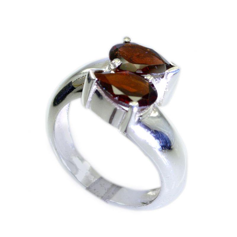Buy Riyo Garnet Wholesale Silver Fashion Fashion Ring Jewellery Sz 7 Srgar7-26068 online