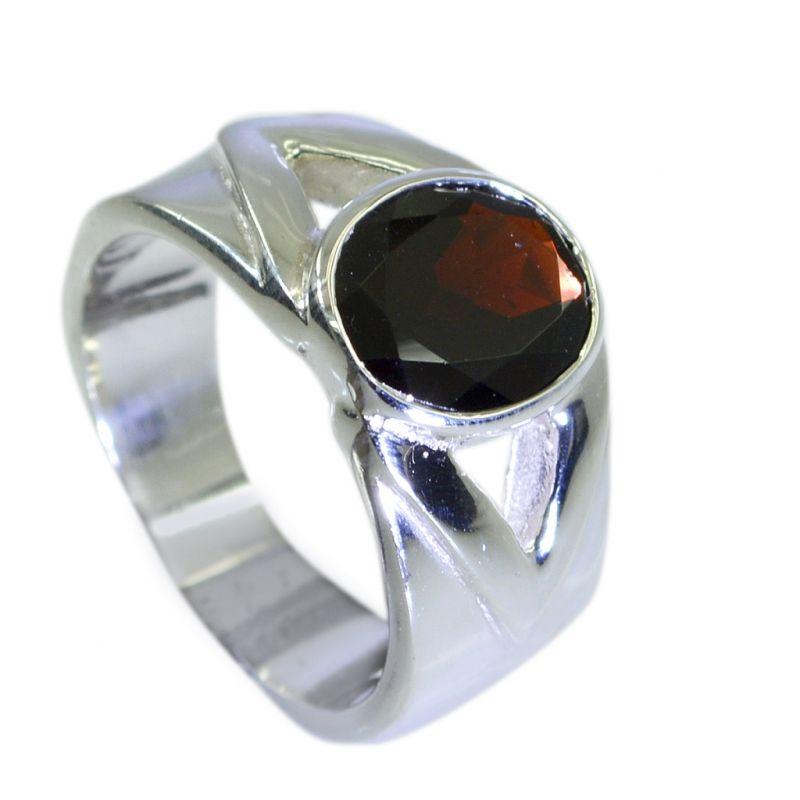 Buy Riyo Garnet Wholesale Silver Jewellery Class Ring Jewelry Sz 7 Srgar7-26070 online